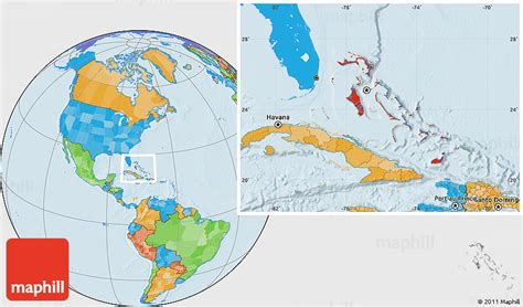 where is the bahamas located on the world map political location map of the bahamas