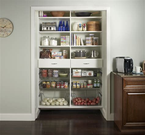 kitchen closet closetcraft custom pantry storage systems closetcraft