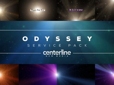 Worship House Media by Odyssey Service Pack Centerline New Media Worshiphouse