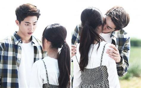 film terbaru nam joo hyuk nam joo hyuk and kim sae ron s kiss scene stills in