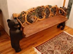 1 500 rustic cabin furniture carved for sale