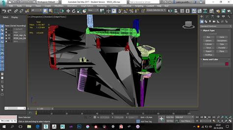 viewport layout in 3ds max 3ds max 2017 display error polycount