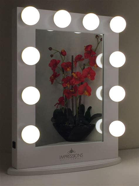 Light Up Mirror Vanity by Classic Lighted Make Up Vanity By