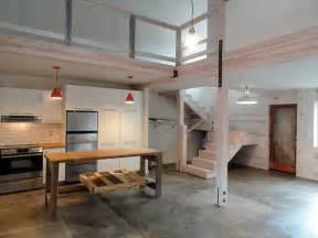 Rustic Outdoor Fireplaces - coastal barn loft rustic living room other metro by spacecamp design build studio