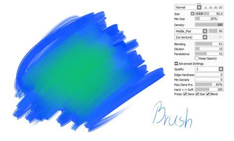 paint tool sai acrylic brush 13 paint tool sai brush acryl brush by catbrushes on