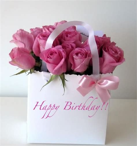 Happy Birthday Wishes Roses Latest Collection Of Happy Birthday Wishes With Pink Rose