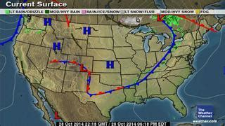 us weather map for today temperature classic surface weather map
