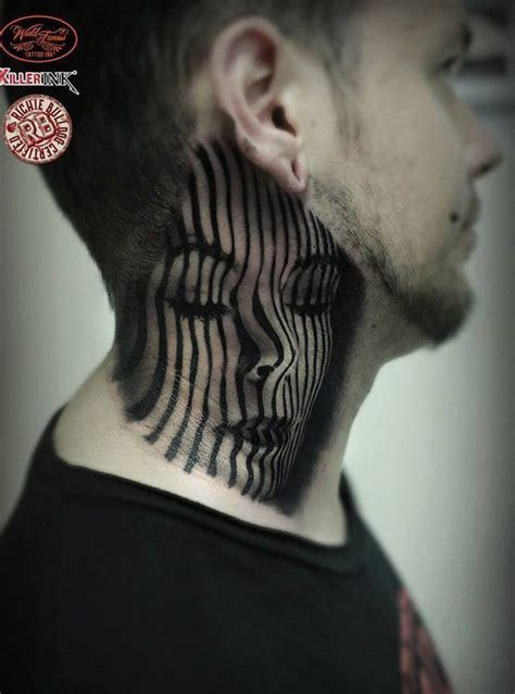 tattoo neck black 157 best images about neck tattoos on pinterest tattoo