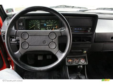 volkswagen rabbit truck interior 1981 volkswagen rabbit pickup caddy black steering wheel