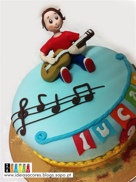 imagenes tema musical menino com guitarra bolo de anivers 225 rio ideiasacores