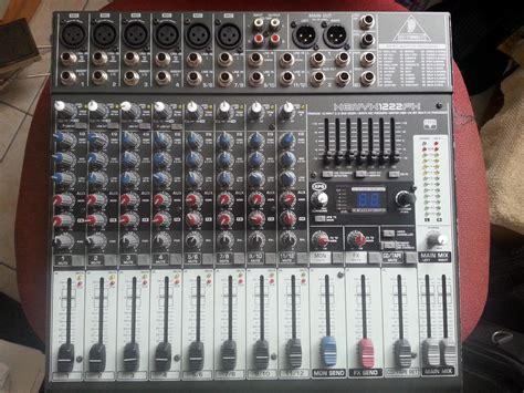 Mixer Xenyx 1222fx xenyx 1222fx behringer xenyx 1222fx audiofanzine