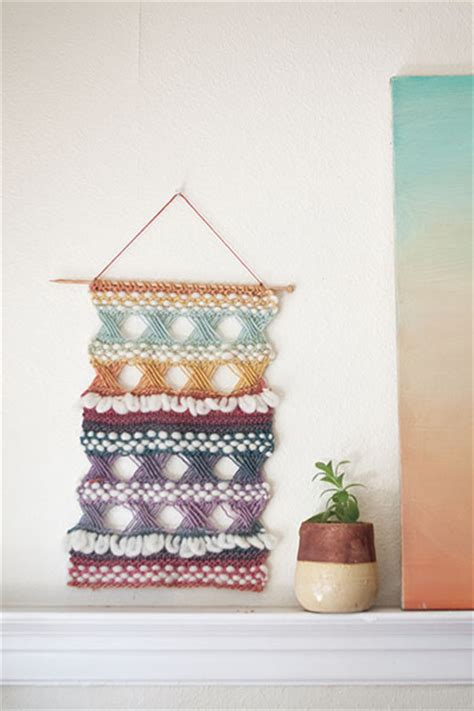 knitting pattern wall hanging braque wall hanging knitting patterns and crochet