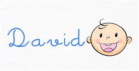imagenes figurativas con nombre el origen del nombre david nombres para beb 233 s youtube