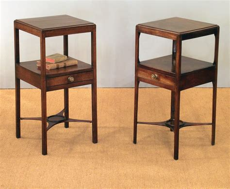 pair of antique washstands pair of bedside tables