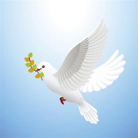 imagenes de palomas blancas gratis paloma de la paz descargar vectores gratis