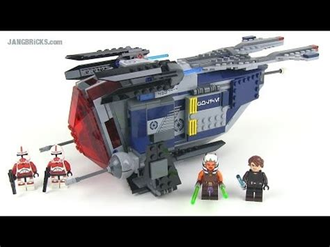 Lego Wars 75046 lego wars 75046 coruscant gunship reviewed