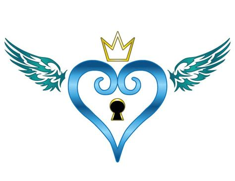 heart tattoo logo kingdom hearts tattoo idea tattoo ideas pinterest