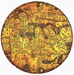 First World Map by Ancient World Maps