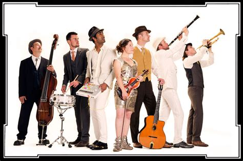 swing bands list swing zazou swing band available for hire book from
