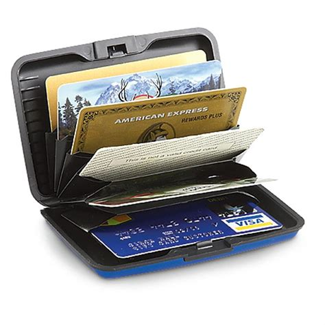 how to make a card wallet aluminum security credit card wallet 218244 wallets at
