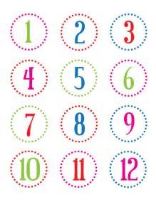 Printable Number Christina Williams Diy Projects