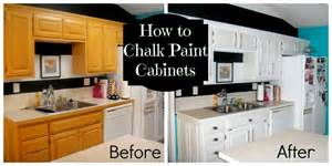 Can You Paint Kitchen Cabinets With Chalk Paint by Decorate My