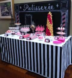 dessert table themed bridal shower