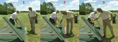 golf swing plane board how to hit the ball straight t