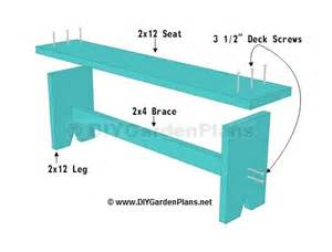 Diy Lean To Shed Plans Free by Simple Plans For A Diy Board Bench