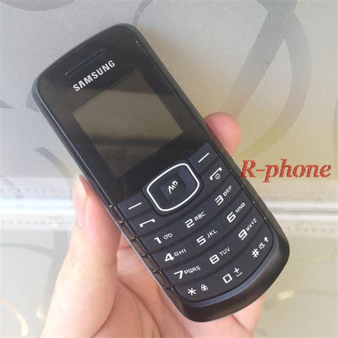 refurbished original unlocked samsung e1080 mobile phone keyboard one year warranty in