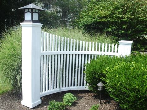 wood picket fence sections white wood picket radius fence section wood fence