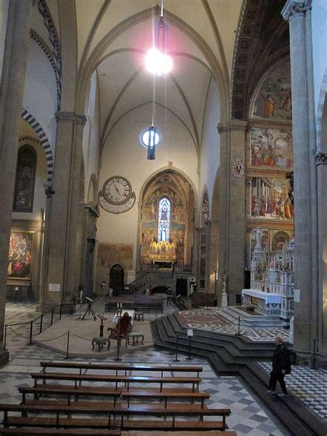 santa novella interno transetto basilica di santa novella firenze