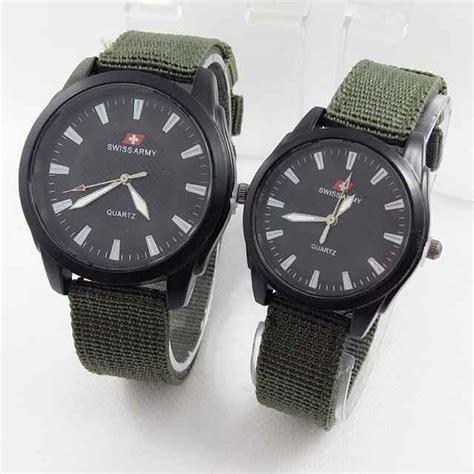 Harga Jam Tangan Swiss Movado jual jam tangan swiss army d 8768 tali kanvas