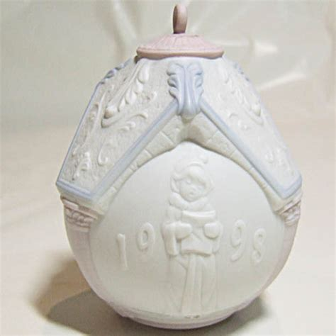 lladro christmas ornament 1998 3 quot ball