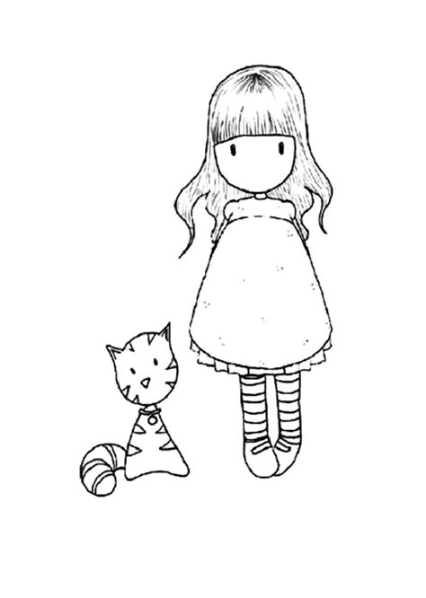 imagenes para pintar muñecas gorjuss para colorear dibujos para colorear
