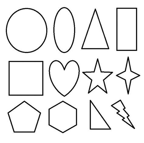 shapes coloring pages get this printable shapes coloring pages x4lk2