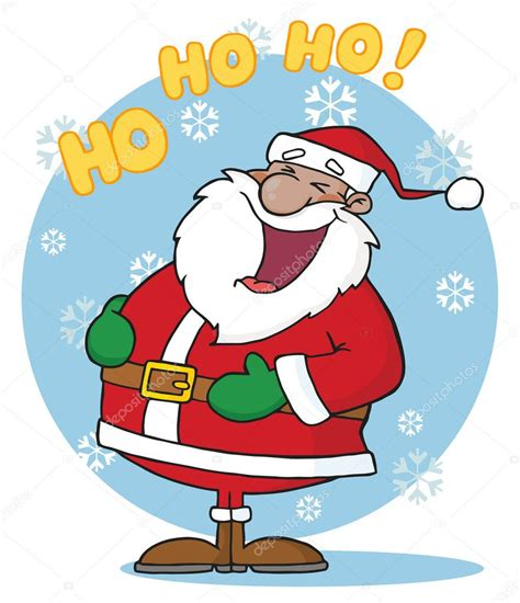 St Hoho Rnc black santa laughing with ho ho ho text stock photo 169 hittoon 4727263