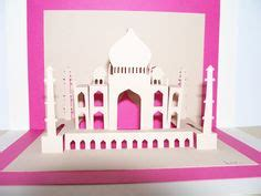 taj mahal pop up card template 1000 images about diy on paper ls