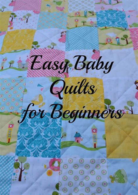 How To Make A Simple Quilt For Beginners by Baby Quilts Quilt And Babies On