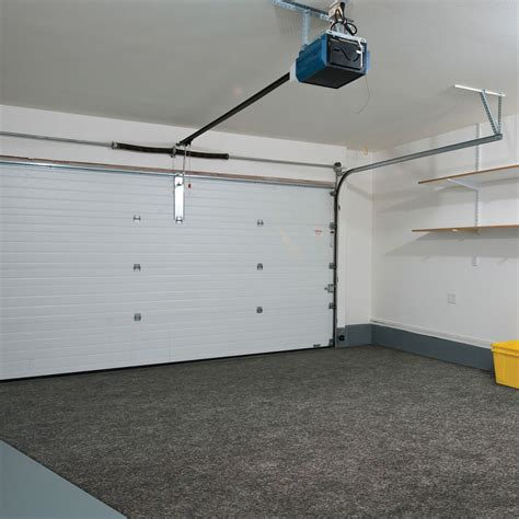 Garage Mat by Water Snow And Mud Absorbing Garage Mat The Green