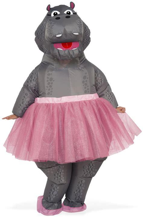 inflatable hippo adult costume purecostumescom