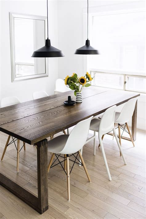 dark dining room table scandinavian inspired dining room m 246 rbyl 229 nga table
