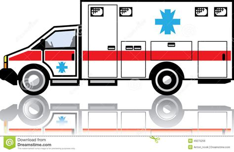 eps clipart ambulance vector stock vector image 49275256