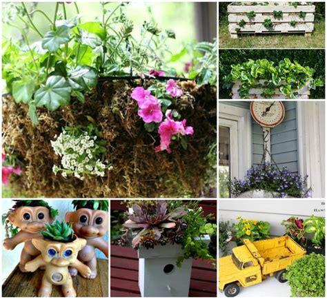 unique outdoor planters unique planter ideas garden matter