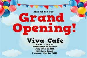 Grand Opening Flyer Template by Grand Opening Balloons Flyer Signazon