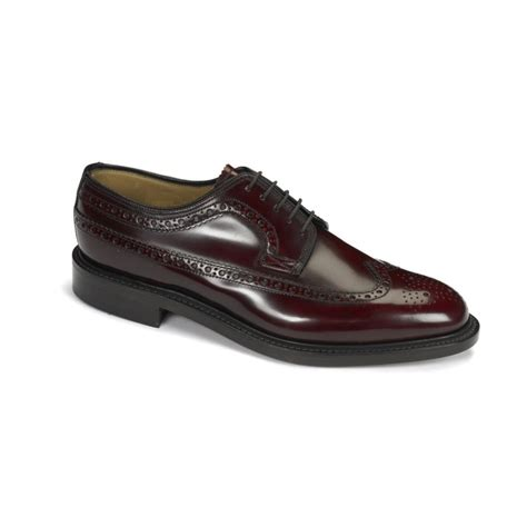 burgundy shoes loake loake royal brogue burgundy n36 mens shoes loake