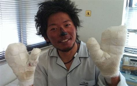 everest film japanese japanese climber who lost nine fingers to frostbite nears