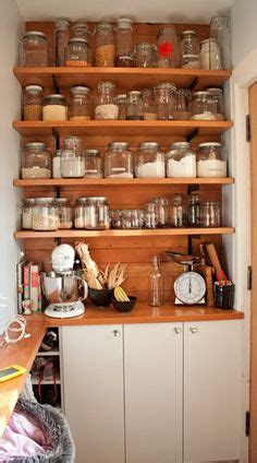 The Open Pantry by Idea For Pantry Open Shelves Collect Me