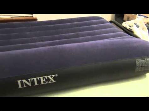 fixing an intex air mattress