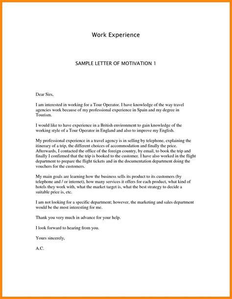 motivation letter of bursary application 11 motivation letters sle emails sle